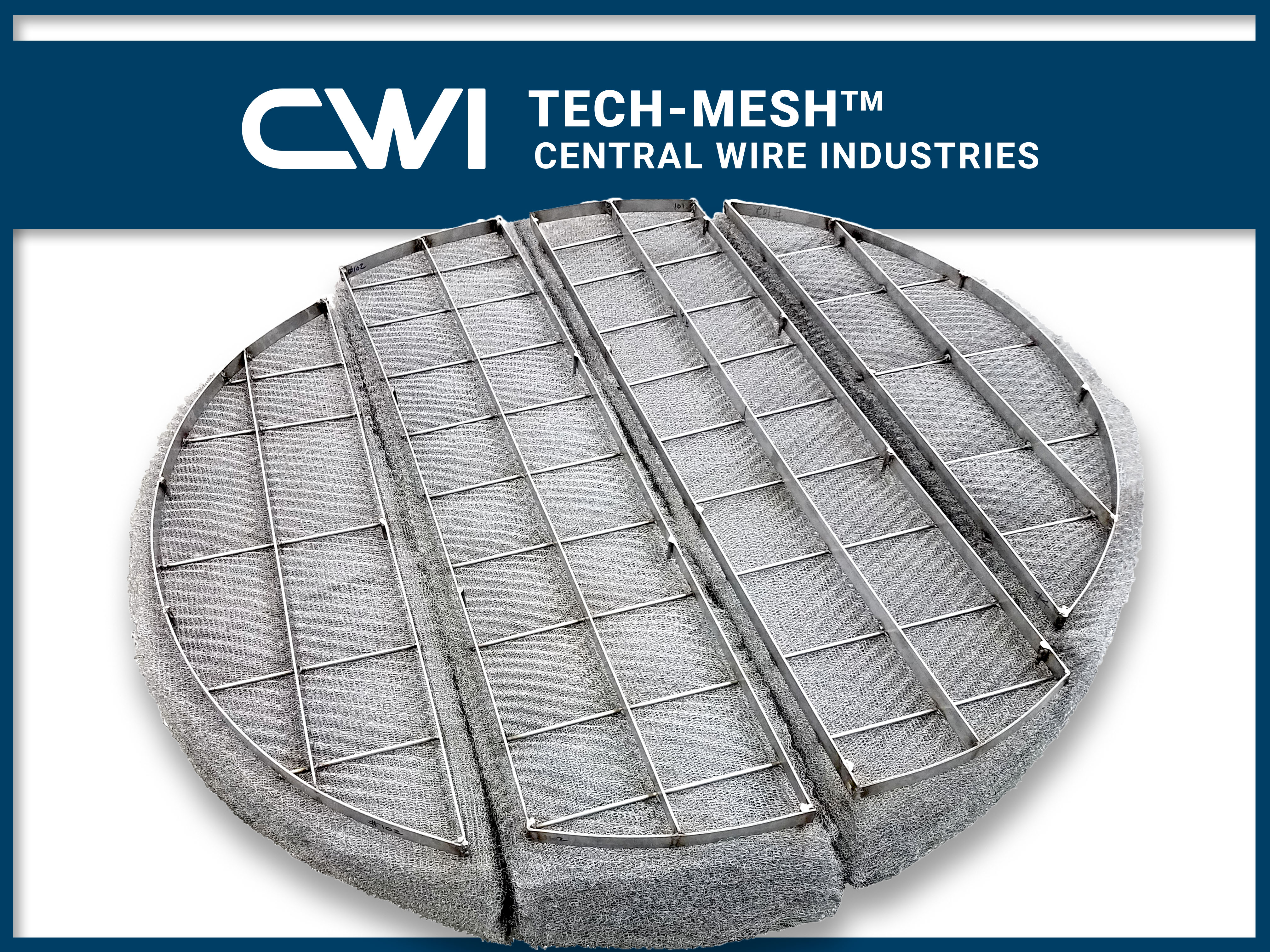 Tech-Mesh: CWI Offers a New High-End Product for all your Mist Elimination Needs